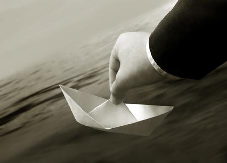 desprotegidos barco oceano